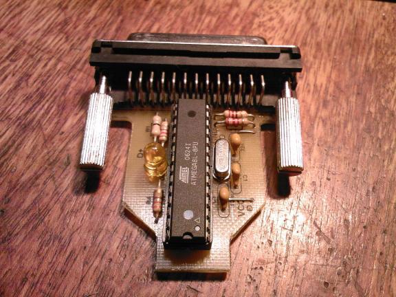конвертер USB - LPT.